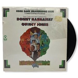 Donny Quincy Come Charlestown Blue Vinyl